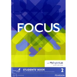 Focus 2 Pre-Intermediate Student's Book with MyEnglishLab