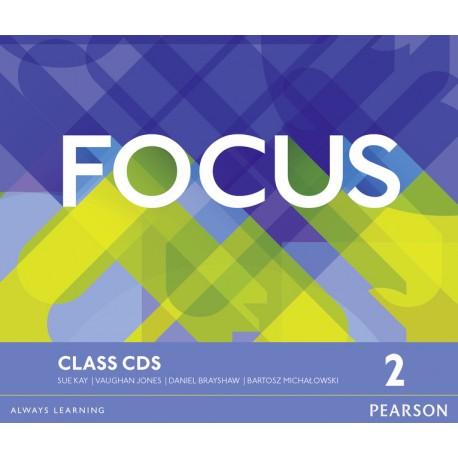 Maturita Focus 2 Pre-Intermediate Class CDs Pearson 9781447997764
