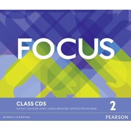 Focus 2 Pre-Intermediate Class CDs