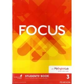 Focus 3 Intermediate Student's Book with MyEnglishLab