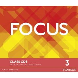 Focus 3 Intermediate Class CDs