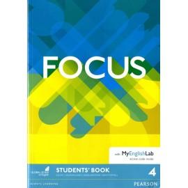 Focus 4 Upper-Intermediate Student's Book with MyEnglishLab