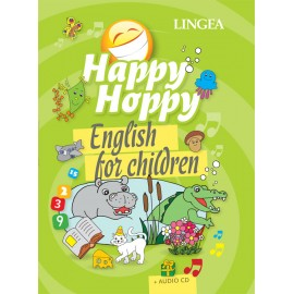Lingea: Happy Hoppy English for Children (kniha + CD)