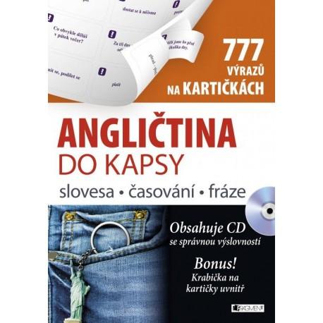 Angličtina do kapsy - slovesa, časování, fráze na kartičkách + MP3 Audio CD FRAGMENT 9788025326343