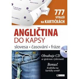 Angličtina do kapsy - slovesa, časování, fráze na kartičkách + MP3 Audio CD
