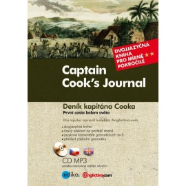 Captain Cook's Journal / Deník kapitána Cooka + MP3 Audio CD