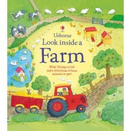Look Inside a Farm Lift-the-Flap Board Book