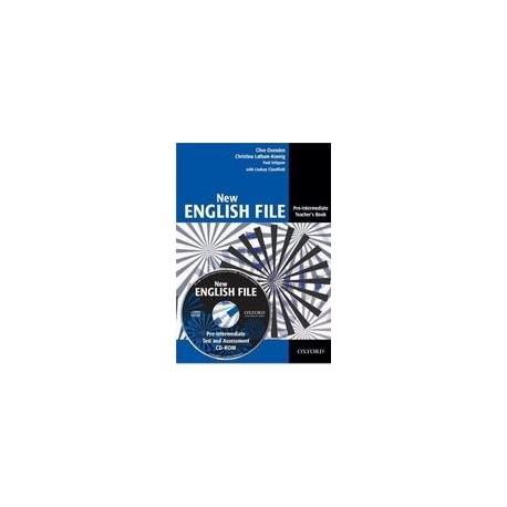 New English File Pre-Intermediate Teacher's Book + Test CD-ROM Oxford University Press 9780194518888