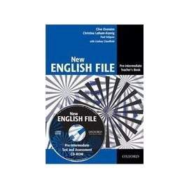 New English File Pre-Intermediate Teacher's Book + Test CD-ROM