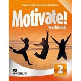 Motivate! 2 Pracovní sešit (CZ)