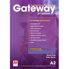 Gateway Second Edition A2 Teacher's Book Premium Pack