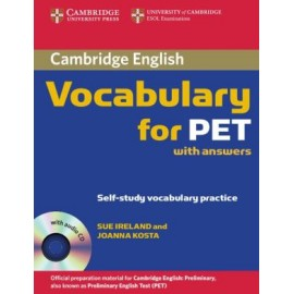 Cambridge Vocabulary for PET (with answers) + CD
