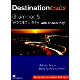 Destination C1 and C2 Grammar & Vocabulary Student's Book (with key) New Ed.
