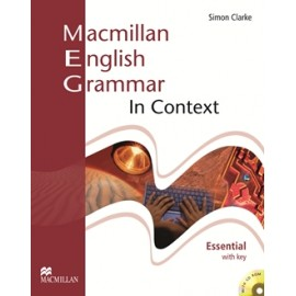 Macmillan English Grammar in Context Essential Student's Book (with key) + CD-ROM New Ed.
