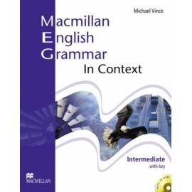 Macmillan English Grammar in Context Intermediate Student's Book (with key) + CD-ROM New Ed.