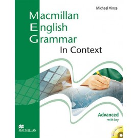 Macmillan English Grammar in Context Advanced Student's Book (with key) + CD-ROM New Ed.