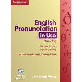 English Pronunciation in Use Elementary Book with answers + CD + CD-ROM