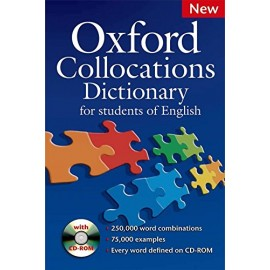 Oxford Collocations Dictionary for Students of English + CD-ROM