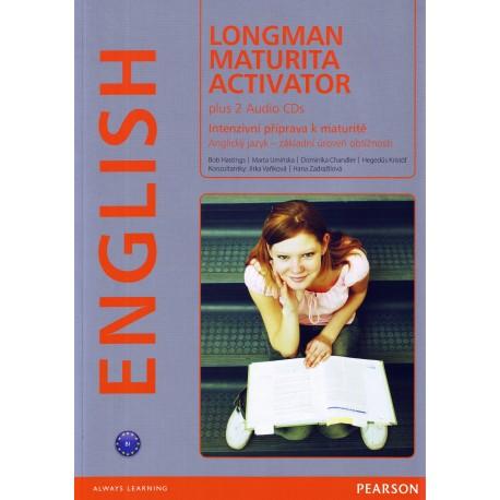 Longman Maturita Activator + CDs Pearson 9788376000558