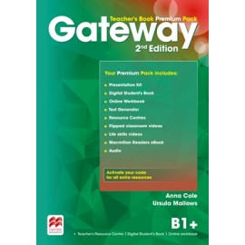 Gateway Second Edition B1+ Teacher's Book Premium Pack
