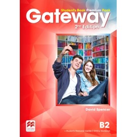 Gateway Second Edition B2 Student's Book Premium Pack