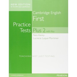 Cambridge English First Practice Tests Plus 2 New Edition for 2015 Exam Student's Book with Key + Online Resources