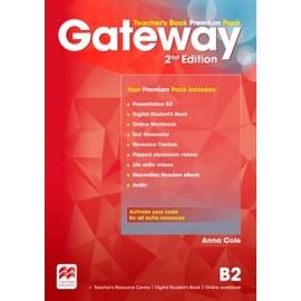 Gateway Second Edition B2 Teacher's Book Premium Pack