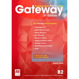 Gateway Second Edition B2 Teacher's Book Premium Pack