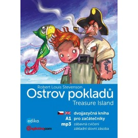 Treasure Island / Ostrov pokladů + MP3 audio download