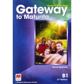 Gateway to Maturita B1 Second Edition Student's Book Pack