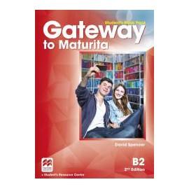 Gateway to Maturita B2 Second Edition Student's Book Pack