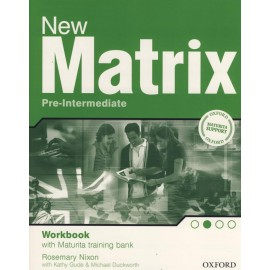 New Matrix Pre-intermediate Maturita Workbook Czech Edition