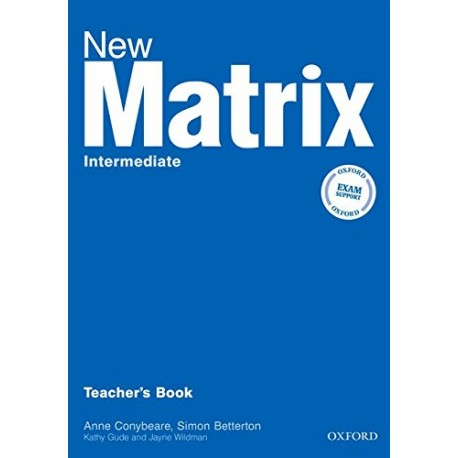 New Matrix Intermediate Teacher's Book Oxford University Press 9780194766180
