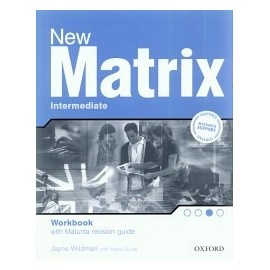 New Matrix Intermediate Workbook (with Maturita revision guide)