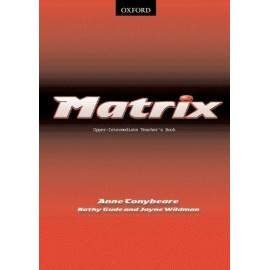 Matrix Upper-Intermediate Teacher's Book