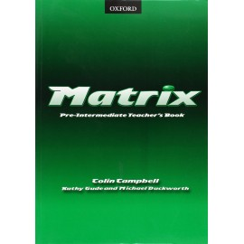 Matrix Pre-Intermediate Teacher's Book