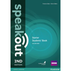 Speakout Starter Second Edition Studen's Book + DVD-ROM