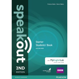 Speakout Starter Second Edition Studen's Book + DVD-ROM with MyEnglishLab