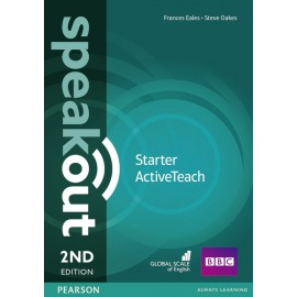Speakout Starter Second Edition Active Teach (Interactive Whiteboard Software)