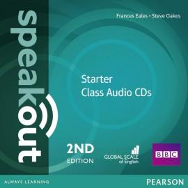 Speakout Starter Second Edition Class Audio CDs