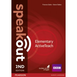Speakout Elementary Second Edition Active Teach (Interactive Whiteboard Software)