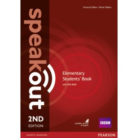 Speakout Elementary Second Edition Student's Book + DVD-ROM