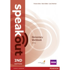 Speakout Elementary Second Edition Workbook with Key