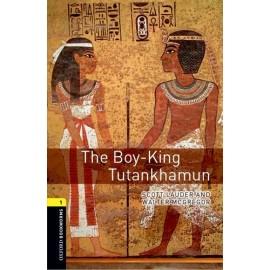 Oxford Bookworms: The Boy-King Tutankhamun + MP3 audio download