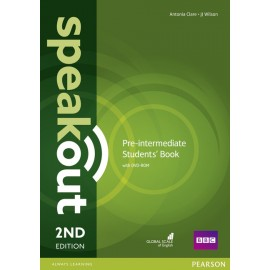 Speakout Pre-Intermediate Second Edition Student's Book + DVD-ROM