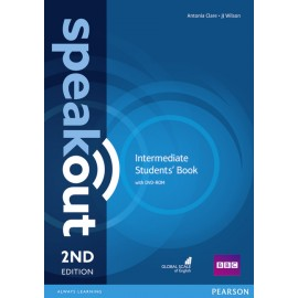 Speakout Intermediate Second Edition Student's Book + DVD-ROM