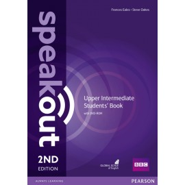 Speakout Upper-Intermediate Second Edition Student's Book + DVD-ROM