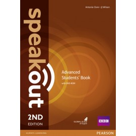 Speakout Advanced Second Edition Student's Book + DVD-ROM