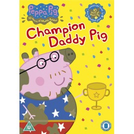 Peppa Pig: Champion Daddy Pig and other stories DVD