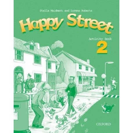 Happy Street 2 Activity Book Oxford University Press 9780194338424